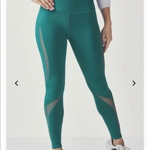 Fabletics Kelly leggings with mesh inserts